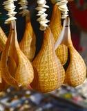 Os caracóis de mar fizeram a fotografia do exemplo Fotos de Stock Royalty Free