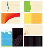 Os cartões ajustaram 3 Fotografia de Stock