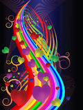 Os cartões coloridos do feriado Imagens de Stock Royalty Free