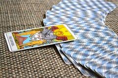 Os cartões de tarô dos amantes amam a afeição das parcerias das escolhas Imagens de Stock Royalty Free