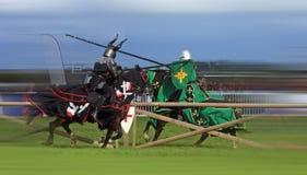 Os cavaleiros do amaldiçoado Imagens de Stock Royalty Free