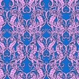 Os cavalos marinhos modelam 3 cores Imagem de Stock Royalty Free