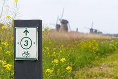 Os ciclistas são bem-vindos! Imagens de Stock Royalty Free