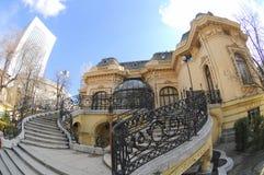 Os cientistas abrigam em Bucareste Fotografia de Stock