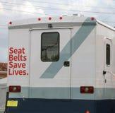 Os cintos de segurança salvar vidas Fotos de Stock Royalty Free