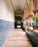 Os claustros em Convento fazem Cristo, Portugal imagem de stock royalty free