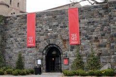 Os claustros encontrados, o museu de arte metropolitano imagem de stock royalty free