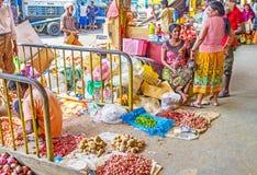 Os comerciantes pequenos Fotografia de Stock Royalty Free