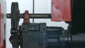 Os complexos automatizados na fabricação, lathe automático filme