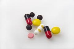 Os comprimidos da medicina fotografia de stock