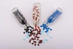 Os comprimidos da medicina para o tratamento Fotos de Stock