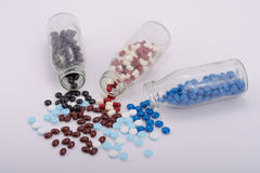 Os comprimidos da medicina para o tratamento Imagens de Stock