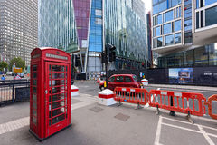 Os contrastes da Londres central Reino Unido Imagens de Stock Royalty Free