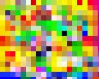 Os contrastes verdes vermelhos azuis amarelos dão forma ao bacground e à textura abstratos da Web ilustração royalty free
