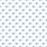 Os copos de chá azuis maravilhosos macios artísticos bonitos gráficos bonitos da porcelana da porcelana modelam a ilustração da m Fotos de Stock Royalty Free