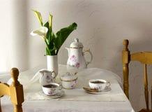 Os copos do chá Imagens de Stock