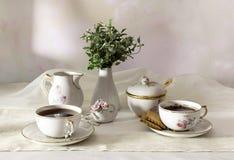 Os copos do chá Foto de Stock Royalty Free