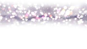 Os corações claros aparecem no fundo de brilho Animação do laço do sumário do feriado do dia de Valentim video estoque