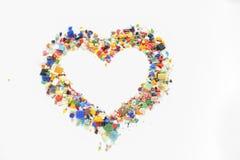 Os corações do Valentim Imagens de Stock Royalty Free