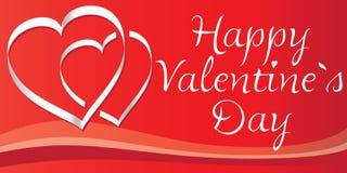 Os corações do Valentim Fotografia de Stock Royalty Free