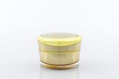 Os cosméticos engarrafam, empacotando Imagem de Stock Royalty Free