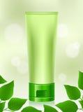 Os cosméticos naturais, orgânicos, composição, produtos de beleza, saem Imagens de Stock