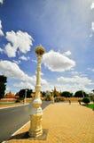 Os crânios da matança colocam em Camboja, este aconteceram da Fotografia de Stock