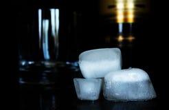 Os cubos de gelo Foto de Stock Royalty Free