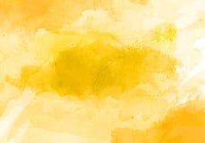 Os cursos da escova da cor de água projetam o fundo gráfico do efeito Fotos de Stock Royalty Free