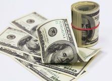 Os dólares americanos Fotos de Stock