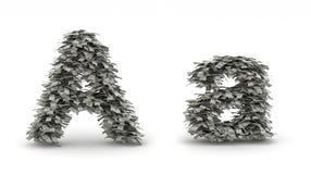 Os dólares rotulam A Ilustração do Vetor