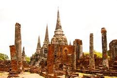 Os d'Ayutthaya images libres de droits
