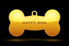Os de chien Image stock