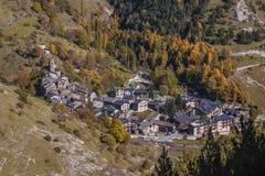 Os De Civis, Lleida, Hiszpania Obraz Royalty Free