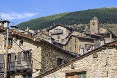 OS de Civis, Lleida, Spanien Royaltyfri Fotografi