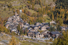Os de Civis, Pyrenees, Spain Royalty Free Stock Images