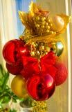 OS de la composición de la Navidad el sol Imagen de archivo libre de regalías