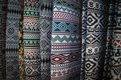 Os 22-24 de setembro de 2017, Chiang Rai Silk e algodão justos Imagem de Stock