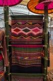 Os 22-24 de setembro de 2017, Chiang Rai Silk e algodão justos Foto de Stock Royalty Free