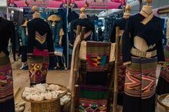 Os 22-24 de setembro de 2017, Chiang Rai Silk e algodão justos Imagens de Stock