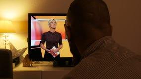 Os debates da tevê na eleição do presidente do trunfo em Hessischer Rundfunk hora canalizam Alemanha filme