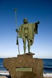 OS della statua un re Fotografia Stock