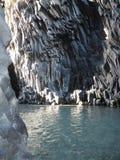Os desfiladeiros de Alcantara em Sicília imagens de stock royalty free