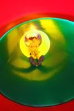 Os deslizamentos da criança no túnel deslizam o campo de jogos Fotografia de Stock Royalty Free