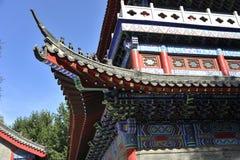 Os detalhes arquitetónicos do templo do rei do dragão Imagem de Stock Royalty Free