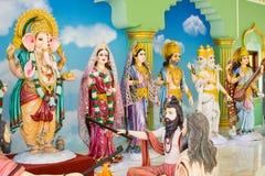 Os deuses do Hinduísmo são adorados pelos indianos Imagem de Stock Royalty Free