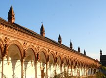 Os di Pavia de Certosa Imagens de Stock Royalty Free