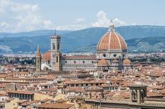 Os di Santa Maria del Fiore da basílica em Florença, Itália imagens de stock