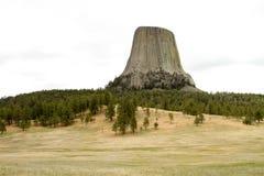 Os diabos elevam-se em Wyoming Fotografia de Stock