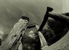 Os diabos presidem, frentes do decano, Gloucestershire Foto de Stock